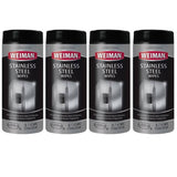 Weiman stainless steel wipes 4 pack