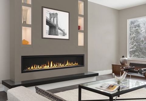 Majestic Echelon II 60 Single Side Fireplace