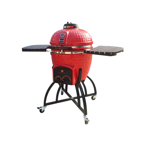 ICON KAMADO 400 SERIES WITH OVERSIZE CART RED