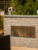 Firegear Kalea Bay Linear Outdoor Fireplace with LED Control
