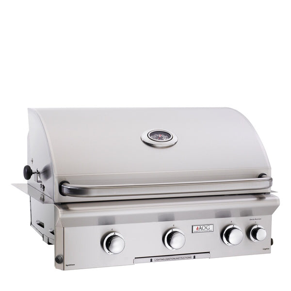 "AOG L Series 30"" gas drop in grill"