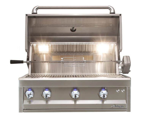 "Artisan Professional 32"" Built-In Grill, 3 Burner, Rotis"