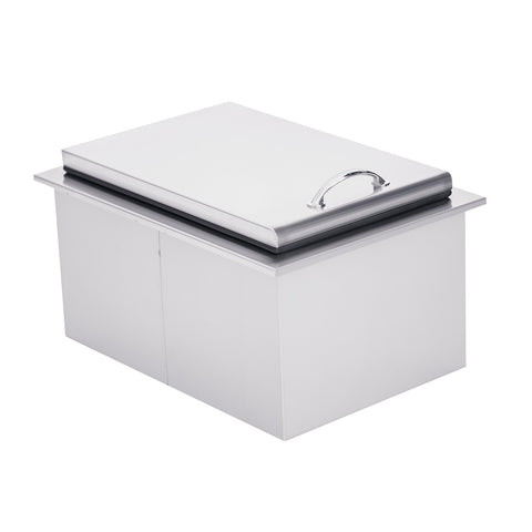 "Summerset 28x26"" 2.7c Drop-in Cooler w/ 40lb Ice Capacity"