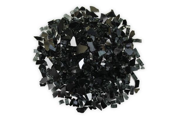 "Firegear Jewelry ‐ REFLECTIVE LARGE Mirror finish broken reflective ‐ Approximately 1/2"" to 3/4"" in size"