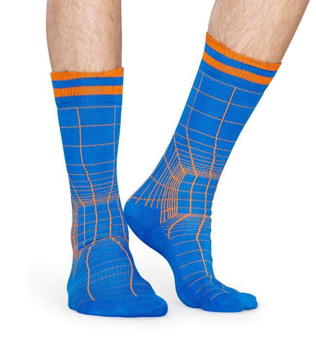 ATHLETIC GRID SOCK