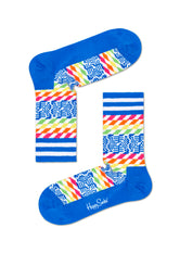 ATHLETIC PIXELS MID HIGH SOCK