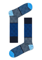 DRESSED BIG DOT BLOCK SOCK