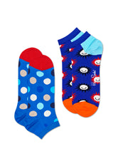 2-PACK BIG DOT LOW SOCK