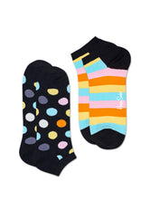 2-PACK BIG DOT LOW SOCKS