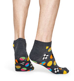 CLASHING DOT LOW SOCK