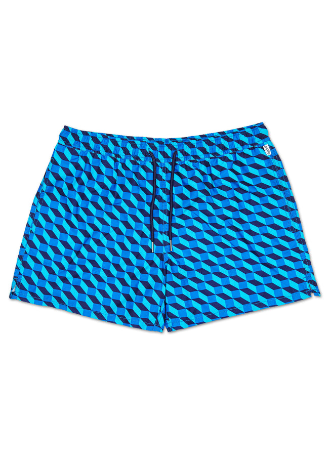 FILLED OPTIC SWIM SHORTS