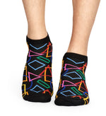 GEOMETRIC LOW SOCK