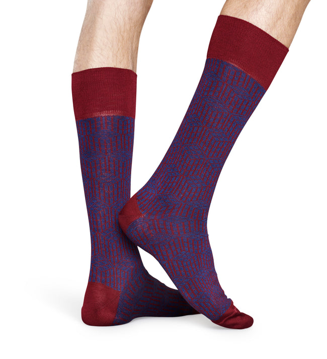 DRESSED GEOMETRIC SOCK