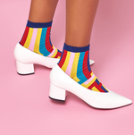 Mira Ankle Multicolor Sock
