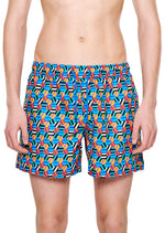 HEXAGON SWIM SHORTS
