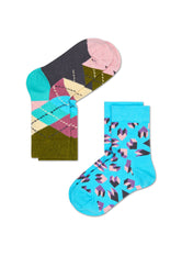 2-PACK ARGYLE SOCKS