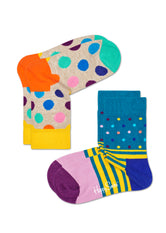 2-PACK KIDS BIG DOT SOCKS