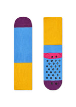 2-PACK BERRY ANTI-SLIP SOCKS
