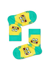 KIDS SPONGE BOB FINEAPPLE SURPRISE SOCK