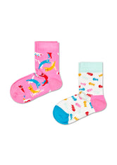 2-PACK KIDS CAT SOCKS