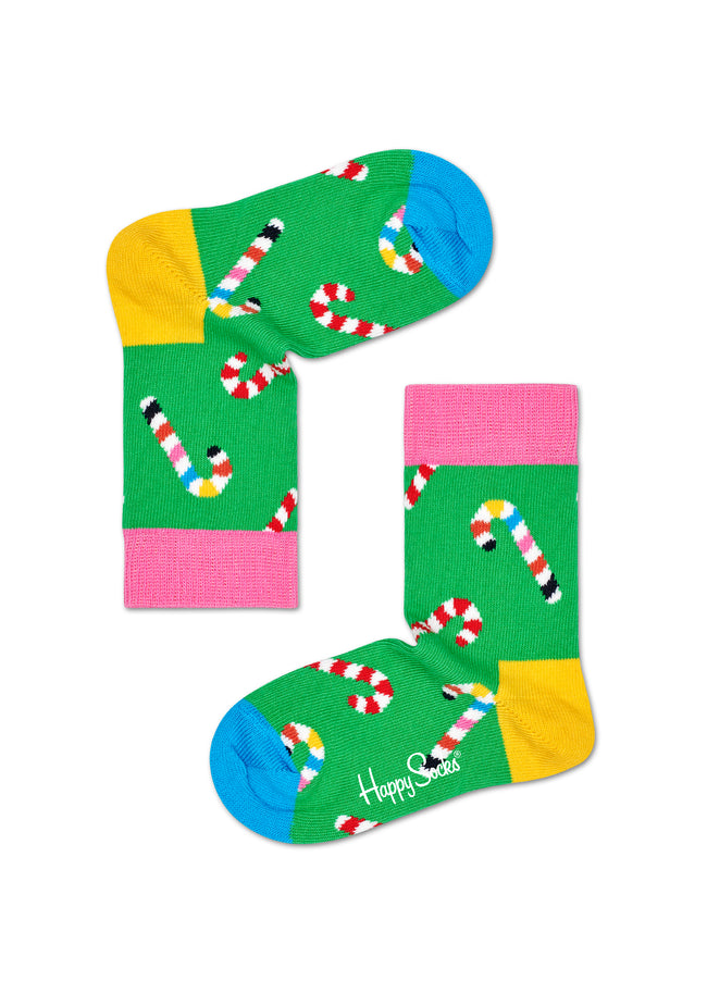 KIDS CANDY CANE SOCK