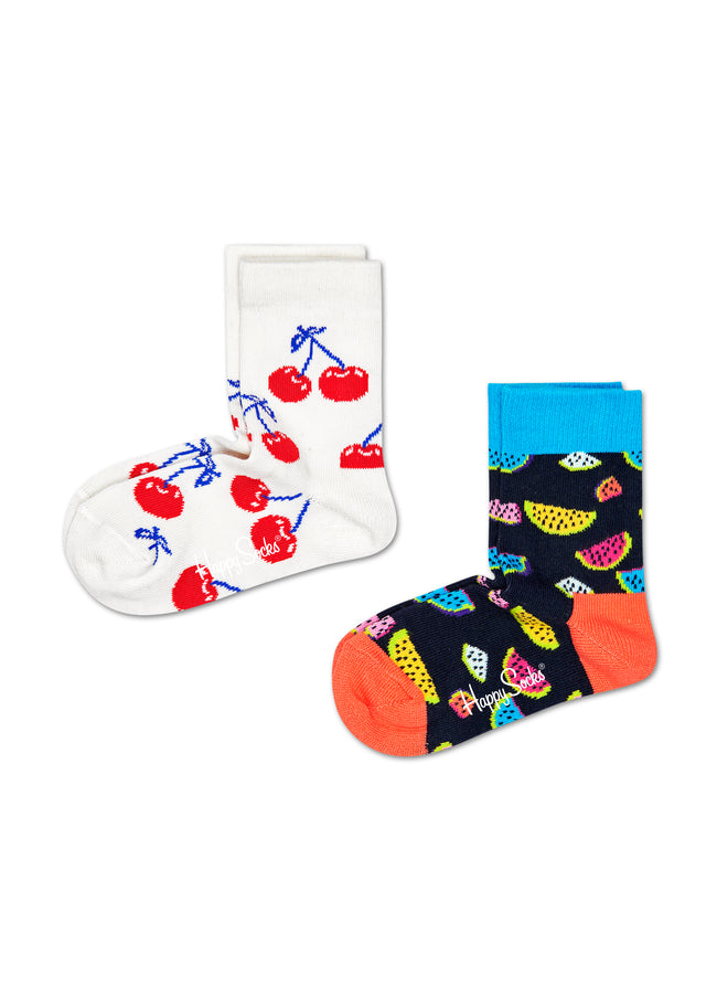 2-PACK KIDS FRUIT SOCKS