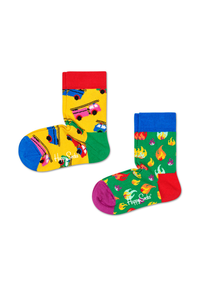 2-PACK ON FIRE SOCKS