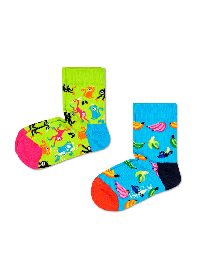 2-PACK BANANA SOCKS