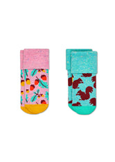 2-PACK ACORN TERRY SOCKS