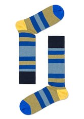 DRESSED MULTI STRIPE SOCK