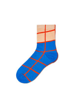 Karen Blue Ankle Sock
