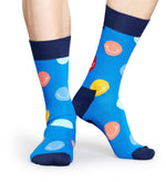 BLUE SMILE SOCK