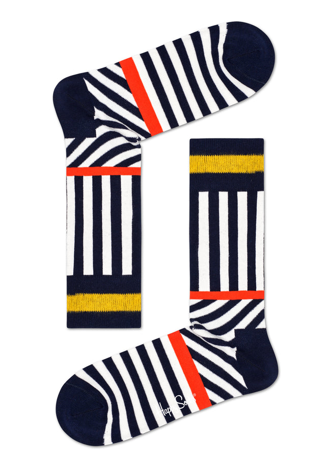 STRIPES AND STRIPES SOCK