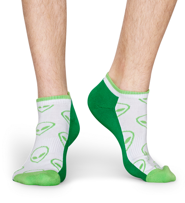 ATHLETIC ALIEN LOW SOCK