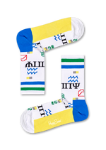 ATHLETIC WINGDINGS MID HIGH SOCK