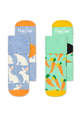 2-PACK BUNNY TERRY SOCKS