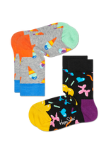 2-PACK ICE CREAM SOCKS
