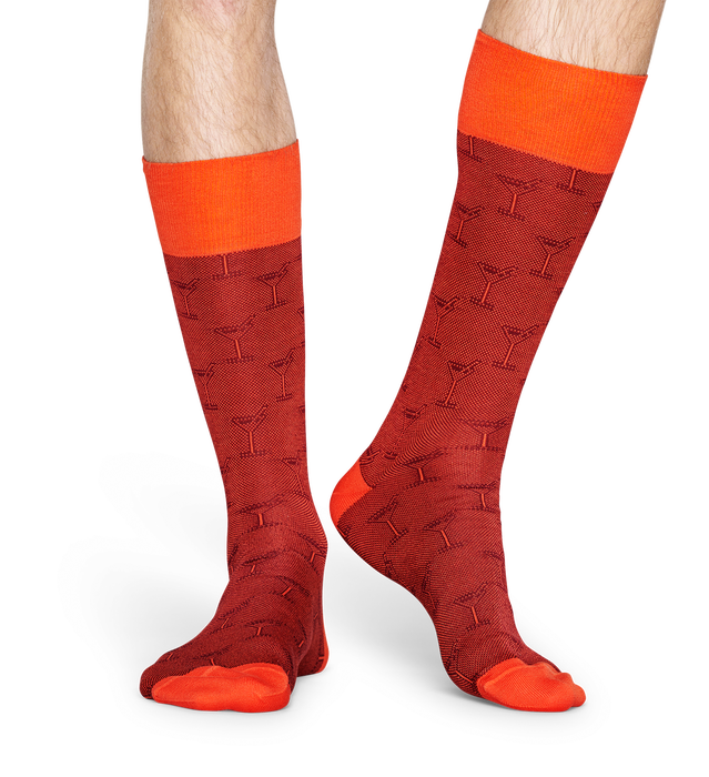 DRESSED COCKTAIL SOCK