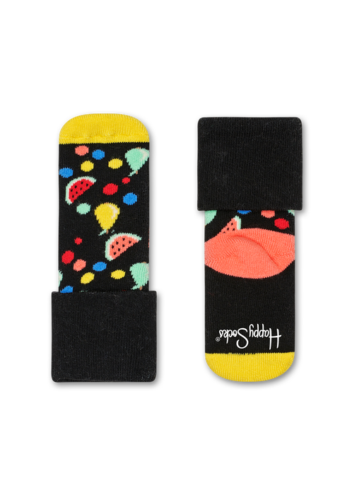 2-PACK FRUIT SALAD TERRY SOCKS
