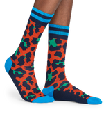 ATHLETIC LEOPARD SOCK