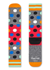 ATHLETIC BIG DOT BLOCK SOCK