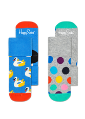 2-PACK SWAN TERRY SOCKS