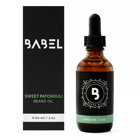 Sweet Patchouli Beard Oil - Manzoned