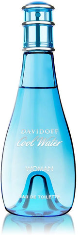 Cool Water Woman 100ml Edt Spray - Manzoned