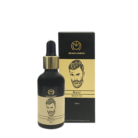Noir Luxury Beard Oil - Manzoned