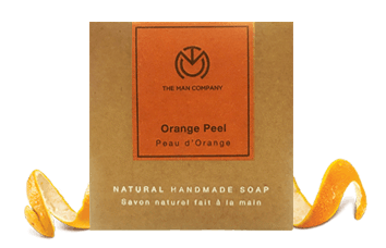 Orange Peel Soap Bar - Manzoned