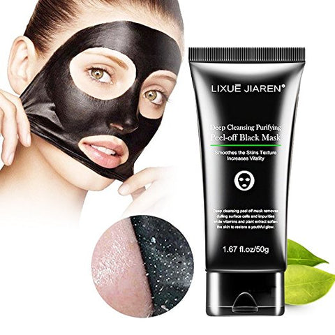 Charcoal Black Facial Clean Peel-off Mask Deep Cleansing Mask