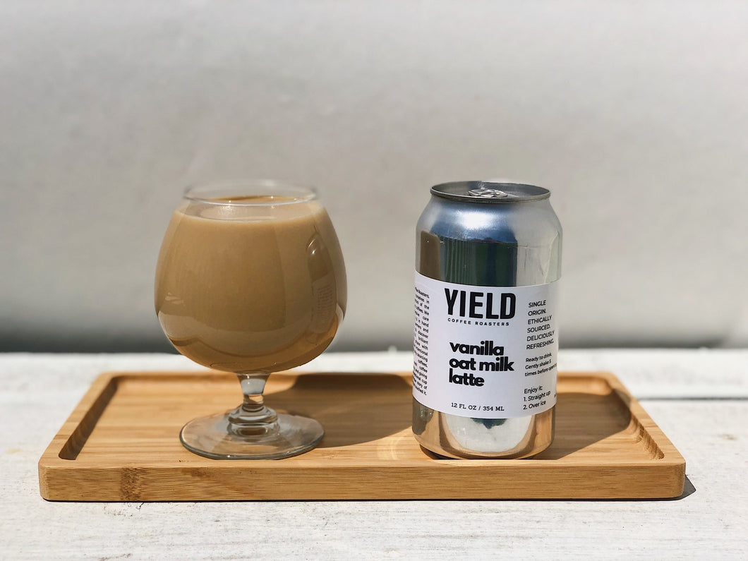 Vanilla Oat Milk Latte - Yield Coffee Roasters