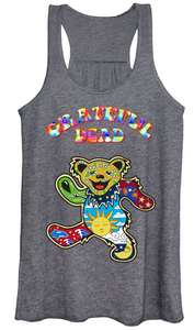 Grateful Dead - Jerry Bear Tank Top - Women's