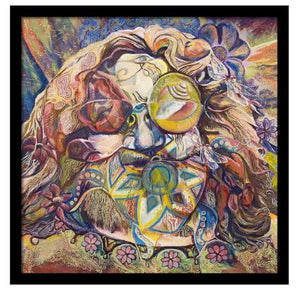 Grateful Dead - Jerry Garcia Psycho Portrait - Poster